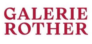 Firmenzeichen der Galerie Rother, Wiesbaden